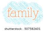 family word cloud. social...   Shutterstock .eps vector #507582601