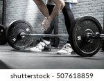 beautiful photo of man's hands...   Shutterstock . vector #507618859
