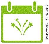 fireworks calendar day grainy... | Shutterstock .eps vector #507639019