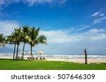 vietnam da nang seaside scenery | Shutterstock . vector #507646309