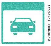 automobile car calendar page... | Shutterstock .eps vector #507647191