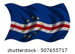 cape verdean national official... | Shutterstock . vector #507655717