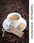 label with german text ... | Shutterstock . vector #507666001