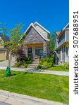 big custom made luxury house...   Shutterstock . vector #507688951