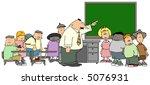 classroom   Shutterstock . vector #5076931