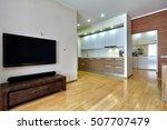 kitchen living room   Shutterstock . vector #507707479