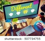 outstanding different special... | Shutterstock . vector #507734755