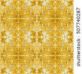 ethnic seamless pattern. tribal ... | Shutterstock . vector #507740287