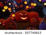 Halloween Lights Gourd
