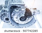 automotive transmission gearbox | Shutterstock . vector #507742285