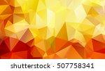 colorful swirl rainbow polygon...