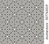 vector seamless pattern. modern ... | Shutterstock .eps vector #507762019