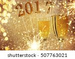 new year celebration  christmas ... | Shutterstock . vector #507763021