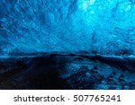ice wall background in cave...   Shutterstock . vector #507765241
