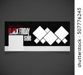 creative black friday banner... | Shutterstock .eps vector #507776245