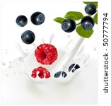 vector illustration. ripe... | Shutterstock .eps vector #50777794