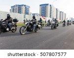 shymkent  kazakhstan   october... | Shutterstock . vector #507807577