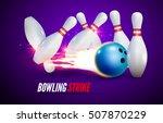 bowling strike realistic...