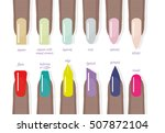 different shapes and types of... | Shutterstock .eps vector #507872104