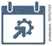 gear integration calendar day... | Shutterstock .eps vector #507917419