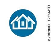 real estate icon  vector... | Shutterstock .eps vector #507932455