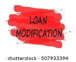loan modification vector card | Shutterstock .eps vector #507933394