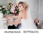 Charming Young Bride In...