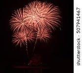 firework in the night sky | Shutterstock . vector #507941467
