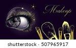 vector hand drawn illustration... | Shutterstock .eps vector #507965917