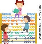 stickman illustration of...   Shutterstock .eps vector #507976189