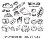 hand drawn vector illustration  ... | Shutterstock .eps vector #507997159