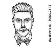 Hand Drawn Portrait Of...
