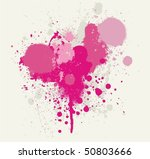 splatter set | Shutterstock .eps vector #50803666