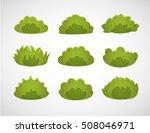 set of bush   Shutterstock .eps vector #508046971