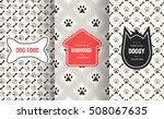 Dog Seamless Pattern Backgroun...