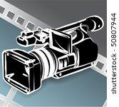 video camera | Shutterstock .eps vector #50807944