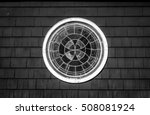 decorative stained glass round... | Shutterstock . vector #508081924