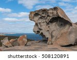 Colored Rock Formation At...