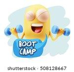 3d illustration gym fitness... | Shutterstock . vector #508128667