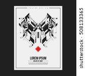 poster print design template...   Shutterstock .eps vector #508133365