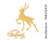 holiday christmas background... | Shutterstock .eps vector #508152919