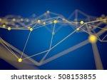 fintech technology and... | Shutterstock . vector #508153855