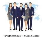 business men and women...   Shutterstock . vector #508162381