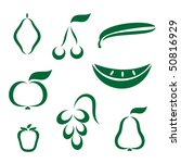 silhouette icons of various... | Shutterstock .eps vector #50816929