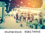 abstract blurred event with... | Shutterstock . vector #508174945