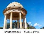 statue of simon bolivar in the...   Shutterstock . vector #508181941