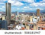 view of downtown bogota ... | Shutterstock . vector #508181947