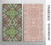 vertical seamless patterns set  ... | Shutterstock .eps vector #508188961