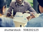 business people together... | Shutterstock . vector #508202125