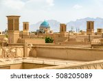 view over the old city of yazd  ... | Shutterstock . vector #508205089